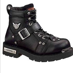 Harley Davidson  Men's Brake Buckle riding boots.